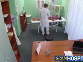 Fierbinte adela gets doctors mare pula therapy