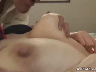 Japanese MILF gets fingered and fucked Uncensored