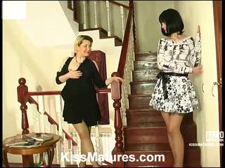 Felicia And Ninon Pussyloving Mom Onto...