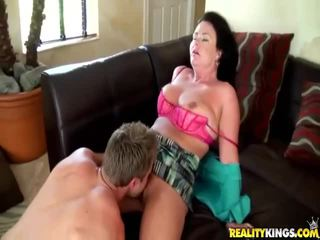 Angel Pink Gets Her Bald Pussy Pounded Hard By A Big Fucking Cock