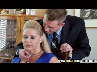 Brazzers - two guys in two milfs