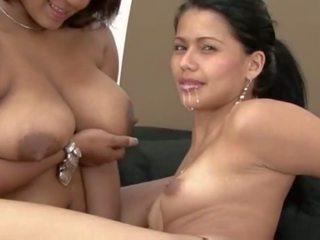 лесбийки, зърната, hd порно