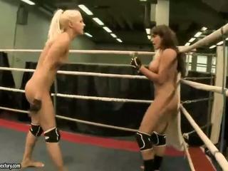 Two gorgeous girls fighting