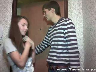 مراهقون analyzed: في سن المراهقة صديقة agrees إلى الشرجي جنس