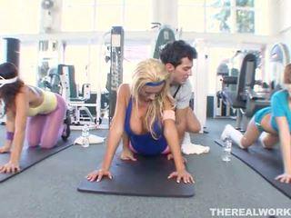šport, babes, gym