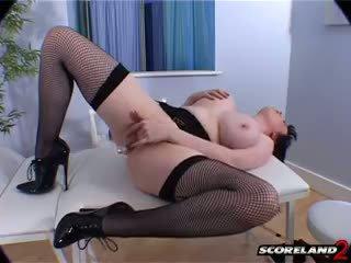 morena, realidade, big boobs