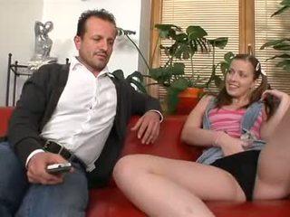брюнетка, oral sex