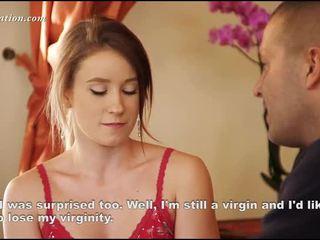 Noor virgin riidest lahtivõtmine