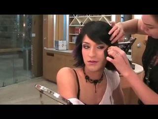 makeup, crossdresser, twarz