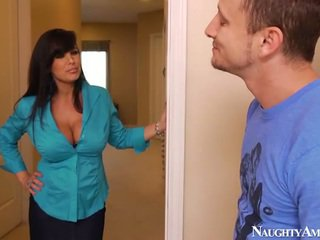 ideal brunette real, fun blowjob check, real big tits
