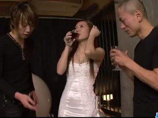Kazumi nanase feels beberapa men hubungan intim dia cherry