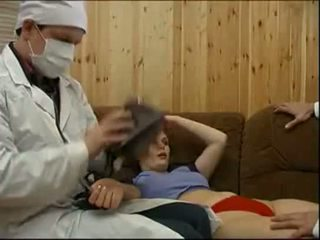 Doctors forcing egy beteg