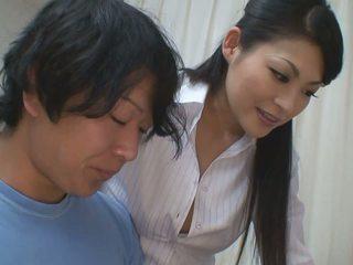 Момче gets още от помощ за негов studies от горещ учител мадама