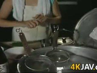 成熟 日本语 女孩 getting 性交