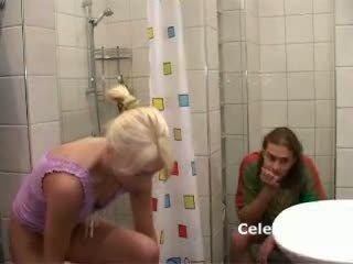 She gets fuck in bathroom blonde teen babe 1