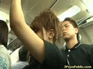 Sexy japanese teens fuck in public places 03