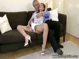 Sexy Teen Seduces Horny Old Man