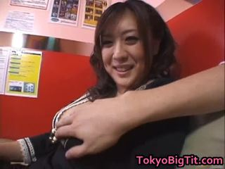Nana aoyama engulfing dong в coffee магазин