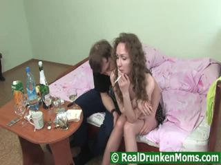 Xồm xoàm drunken bà nội getting pumped raw
