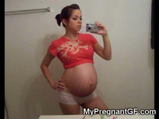 Grávida jovem grávida girlfriends!
