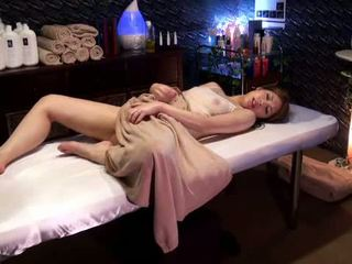Mosaic: College Girl reluctant orgasm by Masseur