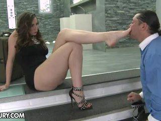 pėdų fetišas, sexy kojos, footjob