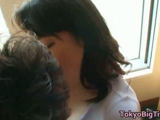 Japońskie modelka duży cycate pieprzyć filmiki