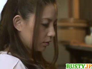 Mako oda 巨乳 是 screwed 同 假阳具