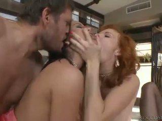 hardcore sex, oral sex, double penetration