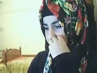 Hijab 소녀 전시 바보 에 웹캠 arab 섹스 관