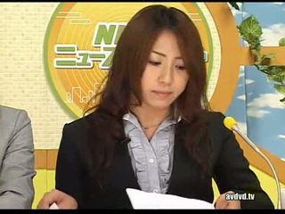 Jepang newsreaders ayumu sena and fuuka minase squirting l