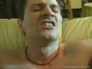 Sexy Milf With A Hairy Cunt Gets Fucked Senseless