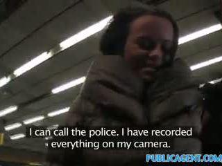 Publicagent ticket inspector fucks a passager may no ticket