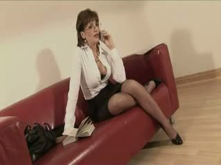Mature Lady Sonia gets jizz shots