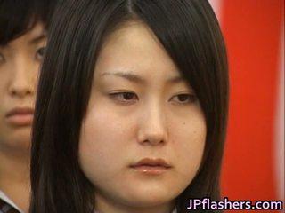 Japonesa nena durante graduation