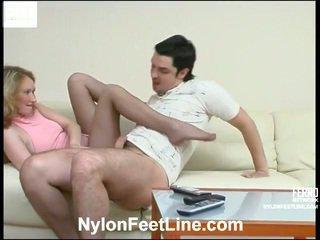 कट्टर सेक्स, पैर बुत, pantyhose
