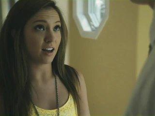 bruneta, mladý, teens