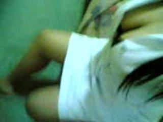 Asian asian pinay nurse with superb Big Tits