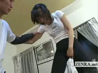 Subtitled jaapani ballet magamistuba stretching eelmäng
