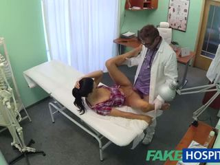 Chaud adela gets doctors grand bite therapy