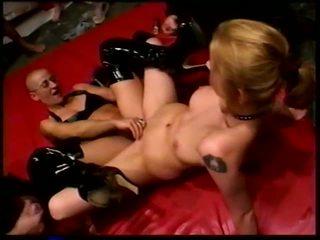 Bald gang bang: brezplačno orgija porno video f5