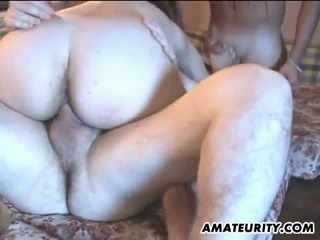 Amateurity: Horny amateur babes gettting fucked in the kitchen
