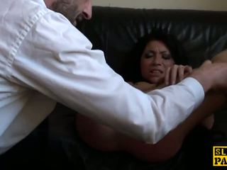 Rowdy Uk Sub Disciplined with a Rough Fuck: Free HD Porn 15