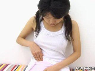 Haruka aida heiß asiatisch teen solo