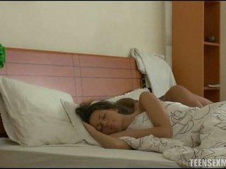 bedroom sex, nukkuva, sleeping porn