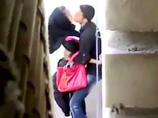 Arab секс спіймана на camera