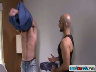Lucky Guy Gets His Excellent Sack Licked 6 By Hardonjob