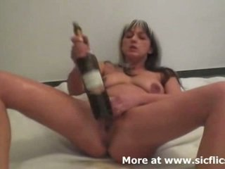 Brutal Fisting And Wine Bottles Make H...