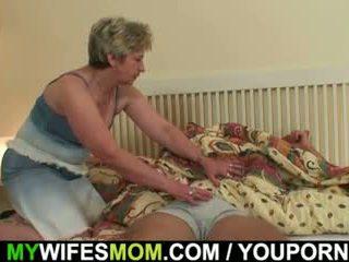 Viņa sieva finds viņam drātēšanās mother-in-law!