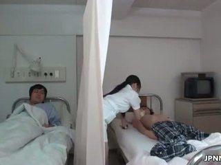Japanska sjuksköterska gets styggt med en kåta part6